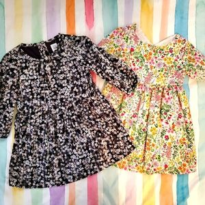 Set of two floral dresses - Toddler 2T